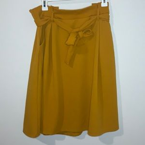See You Monday Paper Bag Skirt with Pockets